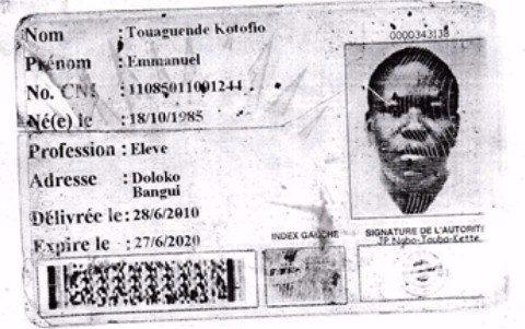Emmanuel Touagende Kotofio